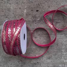 sequin ribbon hot pink sequin ribbon