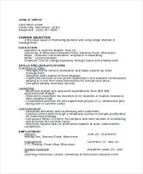 Career Counselor Resume Sample by Sample Camp Counselor Resume Templates 6 Free Documents