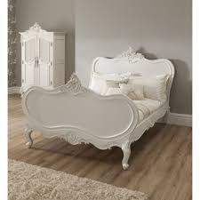 French Style Bedroom by Ym011 Luxury Classic Elegant French Ivory White Solid Wood Fabric