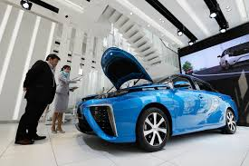 toyota motors japan futuristic hydrogen cars come with a curfew u2014 for now the japan
