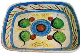 painted platters vintage mexican painted platters omero home