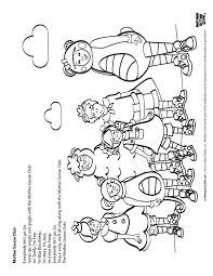 classic mother goose nursery rhymes coloring pages classic kids 3