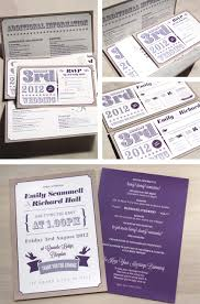 Wedding Invite Examples Colorworks Printers Wedding Stationery Examples U2013 Emily And Richard