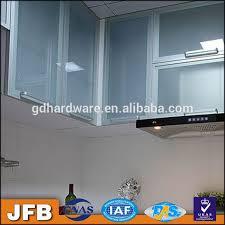 modern kitchen cabinet glass door aluminum kitchen design cabinets aluminum profile frame cabinet glass door for modern kitchen cabinet popular in philippines buy frameless glass