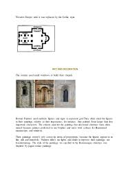 Difference Between Structural And Decorative Design The Difference Between Romanesque And Gothic Architecture