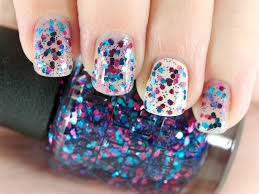 opi polka com shown here on nails and over opi my