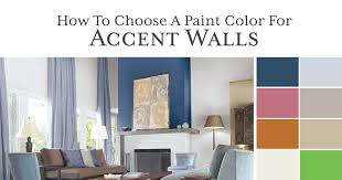 how to choose color for living room how to paint your accent walls