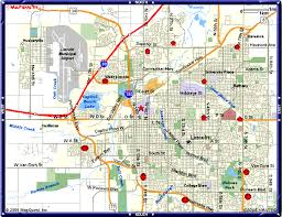 lincoln city map map of lincoln nebraska vacations travel map