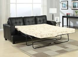 Queen Sofa Sleepers by Sofa Sleepers Diamond Black Bonded Leather Sofa Sleeper Ac 15061