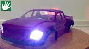 Pink Ford Raptor Truck - airbrushing part1 pro line ford raptor body with light kit