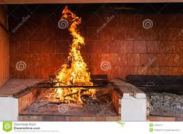 blazing fireplace royalty free stock photography image 33594277