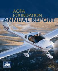 2013 aopa foundation philanthropy report