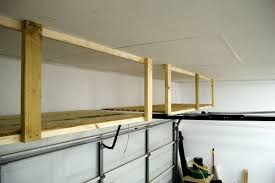 storage loft above garage door above garage door storage plan