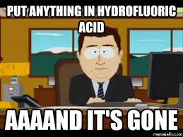 Funny Breaking Bad Memes - hydrofluoric acid and its gone breaking bad meme kill the hydra