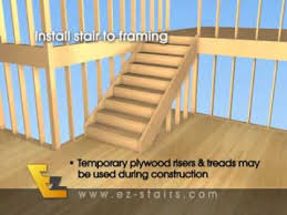 How To Build A Wall In A Basement by Build Quality Finished Interior Stairs Basement Stairs Quickly