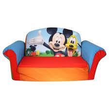 flip open sofa mickey mouse children s 2 in 1 foam flip open sofa marshmallow