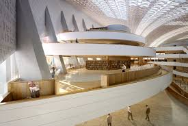 Library Design Designs Unveiled For New Public Library In Iraq Architects And