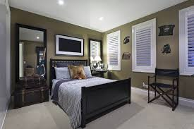 comfortable bedroom color ideas with classic home interior design