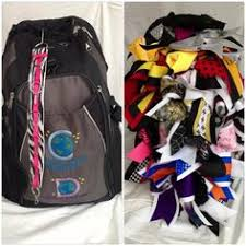 book bags with bows so cheerious cheer bow backpack backpack straps cheer