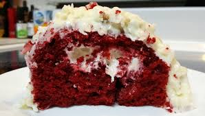 pillsbury supreme collection red velvet cake with coconut pecan