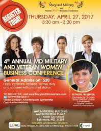 Free Military Business Cards Maryland Military And Veteran Women Business Conference