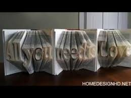 Book Paper Folding - amazingly creative sculptures on folded book paper