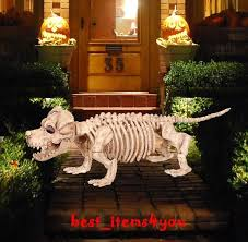 Halloween Skeleton Dog Decoration by 42 Best Halloween Images On Pinterest Halloween Decorations