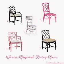 Chippendale Dining Room Chairs Life With A Dash Of Whimsy The Hunt For The Perfect Dining Chairs