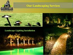 Landscape Lighting Installation - home outdoor renovation and landscape lighting installation calgary