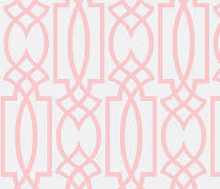 Pink Trellis Curtains Ruby S Pink Trellis Fabric By Theperfectnursery On Spoonflower