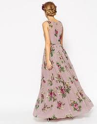 asos petite asos petite wedding super full maxi dress in floral