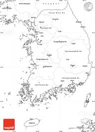 Blank Outline Map Of Asia Printable by Blank Simple Map Of South Korea