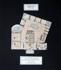 day spa floor plans visual presentation spring 2011