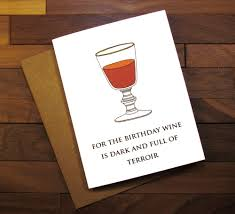 birthday wine funny birthday card game of thrones birthday card with