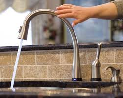 kitchen faucets touchless ell kitchens