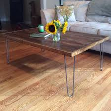vintage coffee table legs pallet coffee table with hairpin legs pallet furniture diy