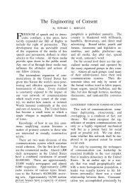 rutgers sample essay engineering of consent mass media public relations