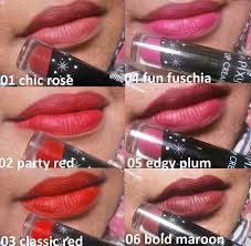 Lipstik Pixy Warna Merah potted pinkyrose pixy lip review swatches all shades