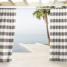 Grey And White Striped Curtains Gray And White Stripe Curtains