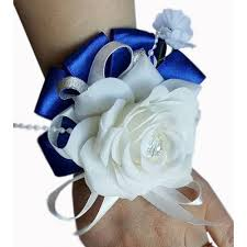 royal blue corsage corsage royal blue flora