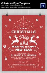 xmas flyer template merry christmas free psd flyer template