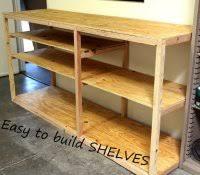 2x4 shelving plans best garage ideas on pinterest building shelves