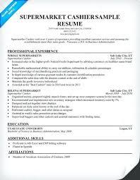 Customer Service Template Resume Sample Resume Of Cashier Customer Service Resume Examples For