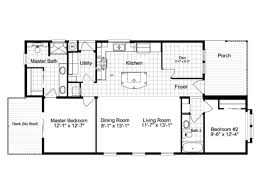 Model Home Floor Plans Summer Breeze Iv Ls28522d Manufactured Home Floor Plan Or Modular