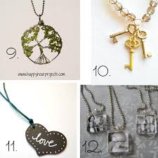 diy necklace pendants images 24 easy diy necklace ideas jpg