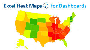 dynamic excel heat maps for complex data dashboards boost your