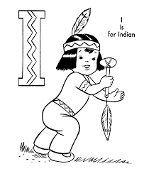 abc alphabet coloring sheets abc indian boy characters