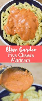 Olive Garden Five Cheese Marinara - olive garden five cheese marinara