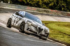 2018 alfa romeo stelvio quadrifoglio is the world u0027s fastest