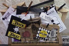 quick and easy halloween treat bags the creative studio